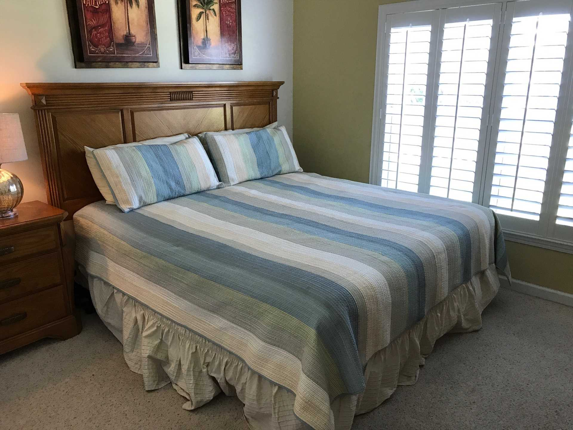 GUEST ROOM W/MASTER BED