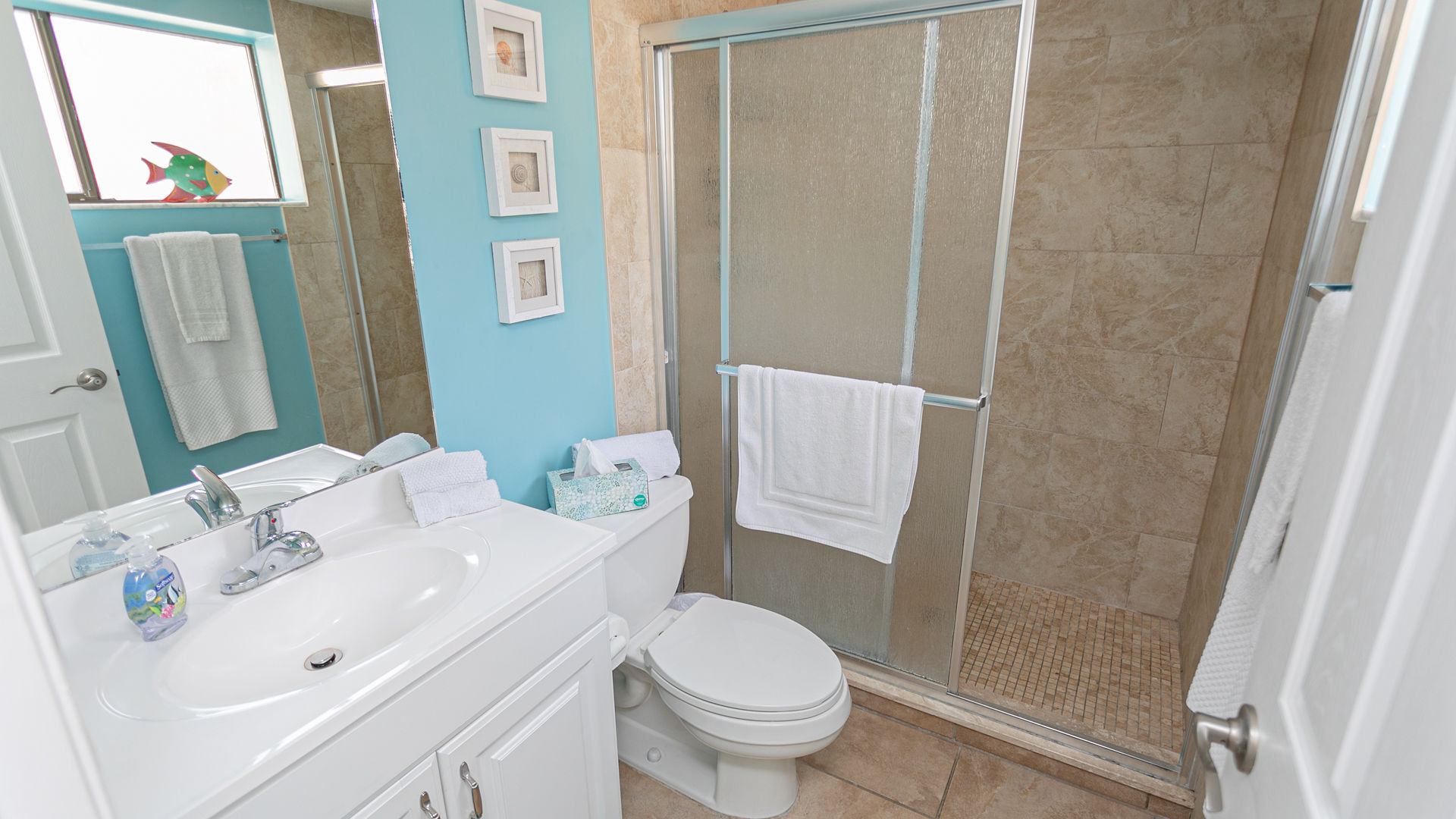 Downstairs Walk in Shower