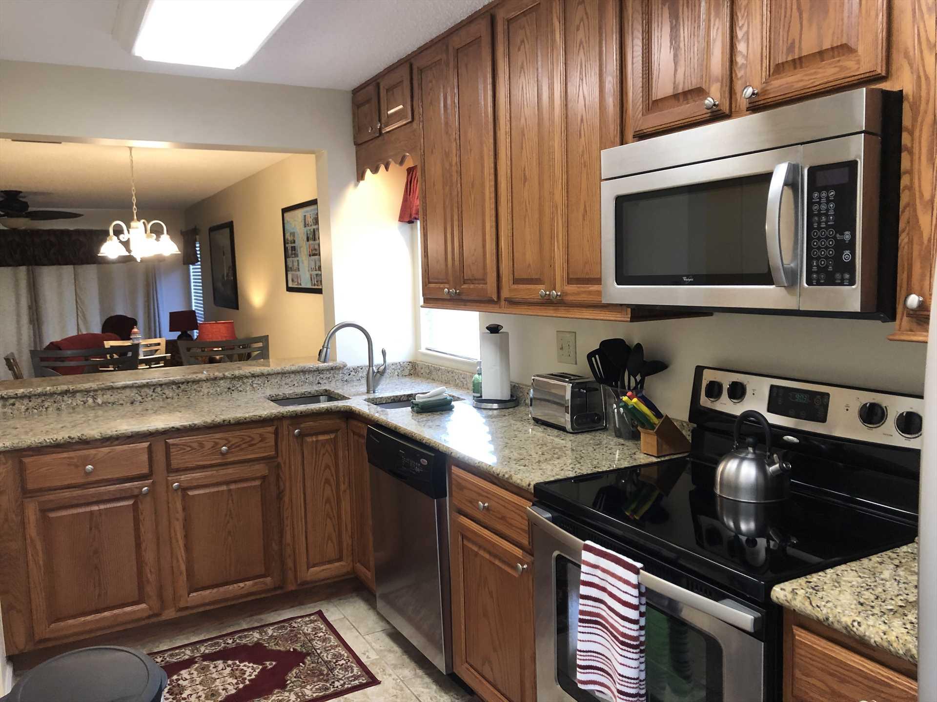 Open Area Kitchen