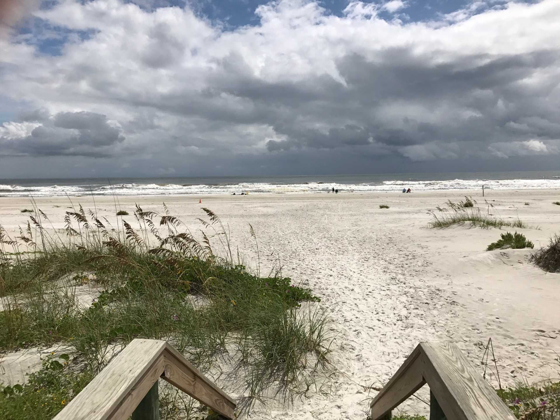 Wide Open Beach/Ocean