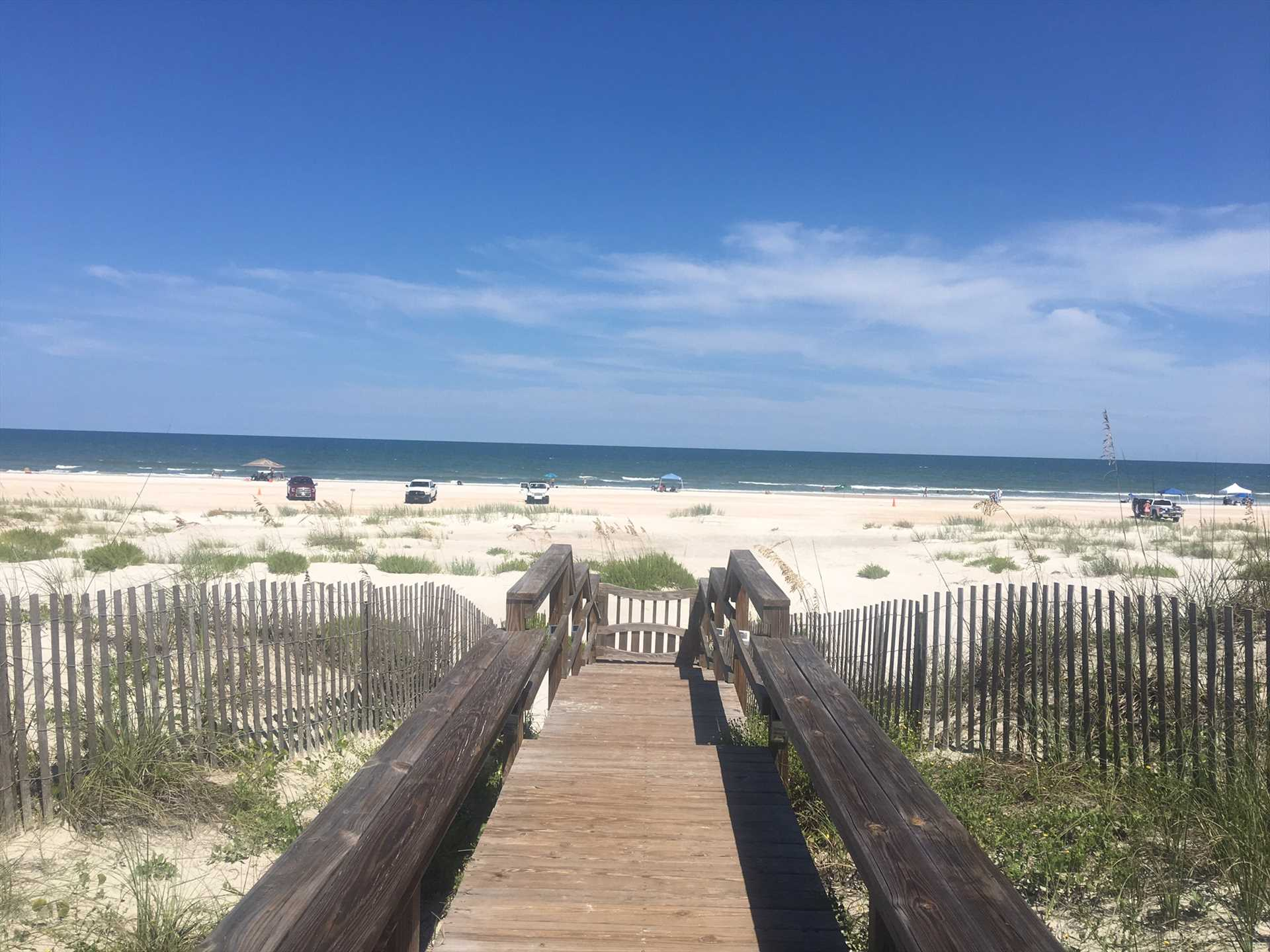 Boardwalk to Beach/Ocean