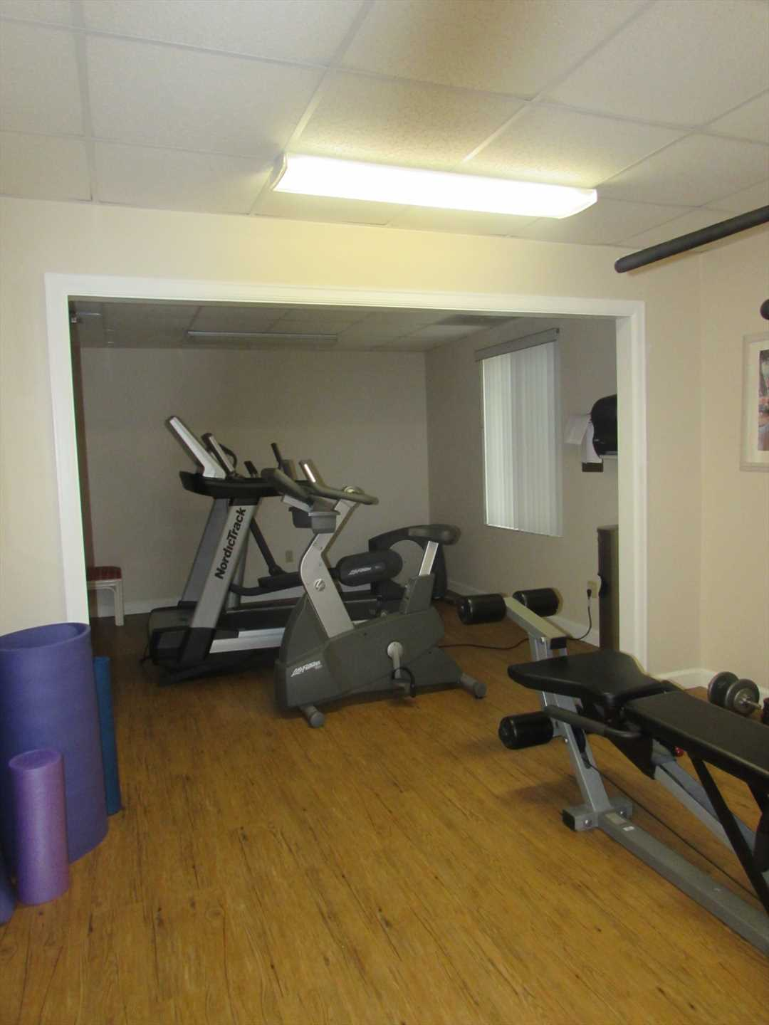 Work out Equipment in Clubhouse
